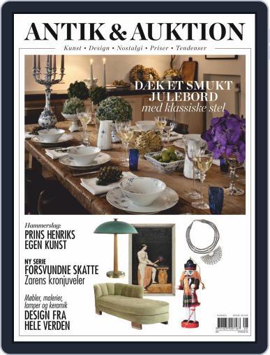 Antik & Auktion Denmark October 29th, 2020 Digital Back Issue Cover