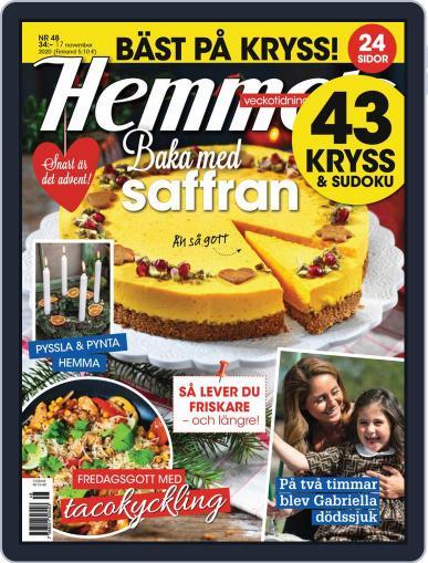 Hemmets Veckotidning (Digital) November 17th, 2020 Issue Cover