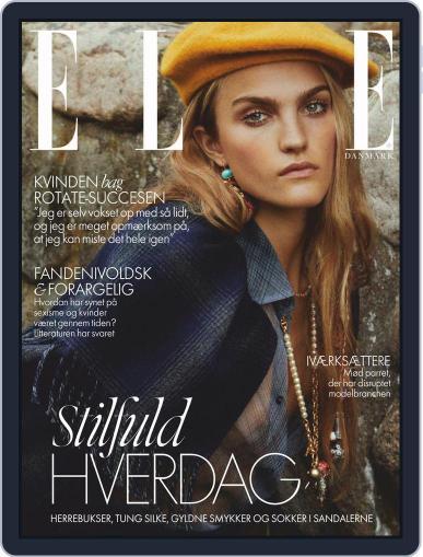 ELLE Denmark (Digital) November 1st, 2020 Issue Cover