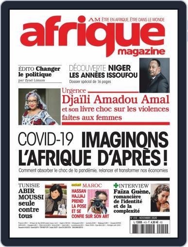 Afrique November 1st, 2020 Digital Back Issue Cover