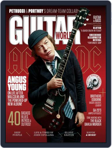 Guitar World (Digital) December 2nd, 2020 Issue Cover