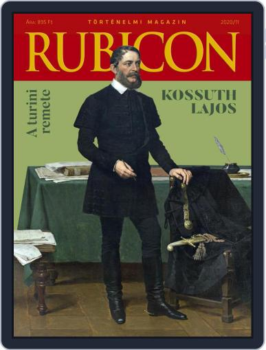 Rubicon Történelmi Magazin (Digital) November 1st, 2020 Issue Cover