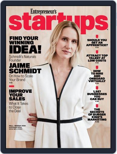 Entrepreneur's Startups (Digital) December 1st, 2020 Issue Cover