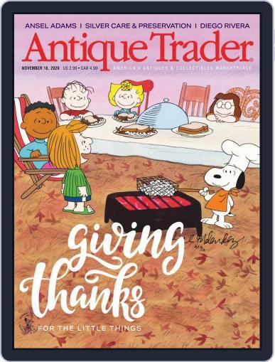 Antique Trader (Digital) November 18th, 2020 Issue Cover