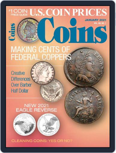 Coins (Digital) January 1st, 2021 Issue Cover