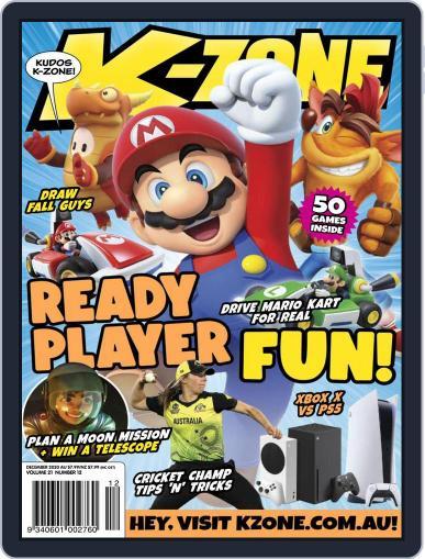 K-Zone (Digital) December 1st, 2020 Issue Cover