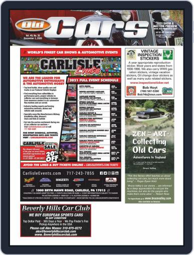 Old Cars Weekly (Digital) December 3rd, 2020 Issue Cover