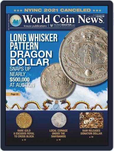 World Coin News (Digital) November 1st, 2020 Issue Cover