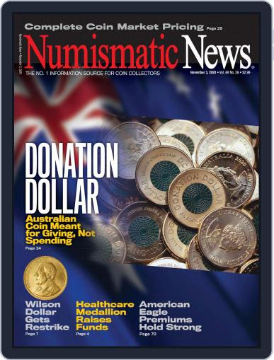 Numismatic News (Digital) November 3rd, 2020 Issue Cover