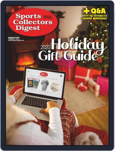 Sports Collectors Digest (Digital) November 20th, 2020 Issue Cover