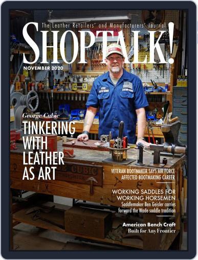 Shop Talk! (Digital) November 1st, 2020 Issue Cover
