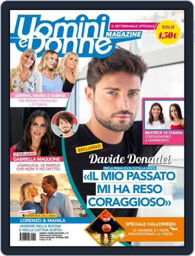 Uomini e Donne (Digital) October 30th, 2020 Issue Cover