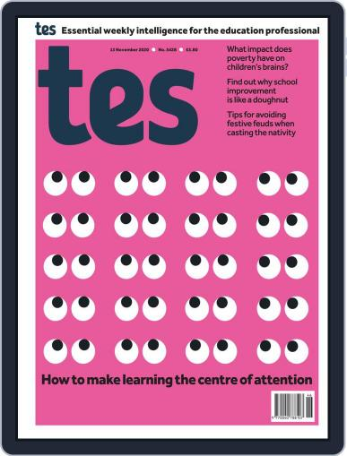 Tes (Digital) November 13th, 2020 Issue Cover