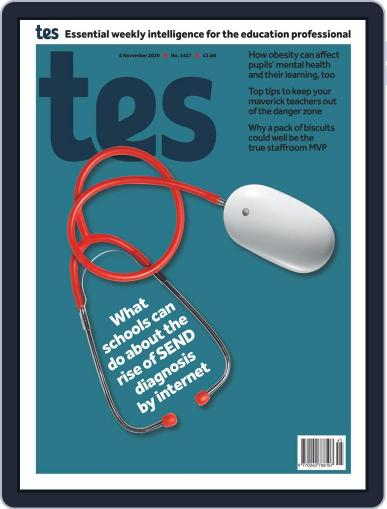 Tes (Digital) November 6th, 2020 Issue Cover