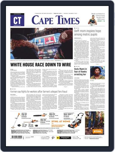 Cape Times (Digital) November 5th, 2020 Issue Cover