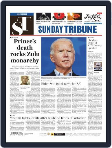 Sunday Tribune (Digital) November 8th, 2020 Issue Cover