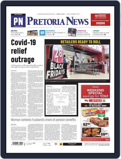 Pretoria News (Digital) November 13th, 2020 Issue Cover