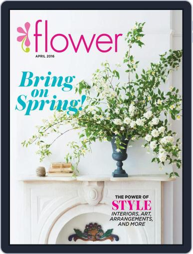 Flower (Digital) March 1st, 2016 Issue Cover