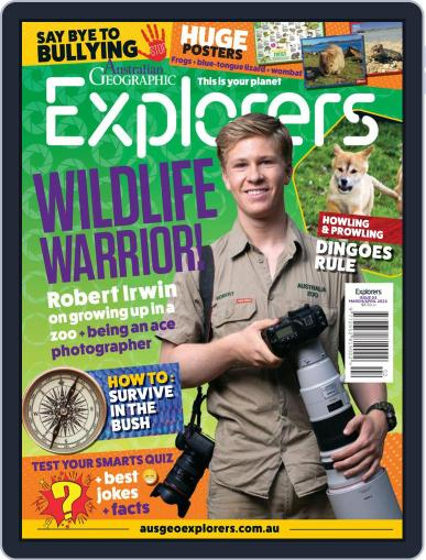Australian Geographic Explorers Magazine (Digital) March 1st, 2021 Issue Cover