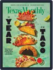 Texas Monthly (Digital) Subscription December 1st, 2020 Issue