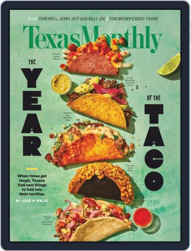 Texas Monthly (Digital) December 1st, 2020 Issue Cover