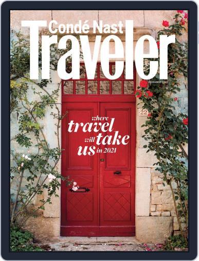Conde Nast Traveler (Digital) December 1st, 2020 Issue Cover