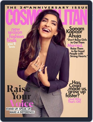 Cosmopolitan India (Digital) October 1st, 2020 Issue Cover
