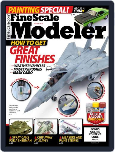 FineScale Modeler (Digital) January 1st, 2021 Issue Cover