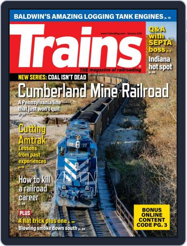 Trains (Digital) January 1st, 2021 Issue Cover
