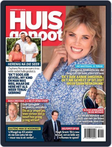 Huisgenoot (Digital) November 26th, 2020 Issue Cover
