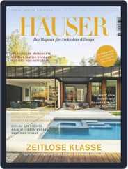 Häuser (Digital) Subscription November 1st, 2020 Issue