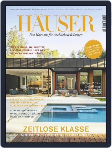 Häuser (Digital) November 1st, 2020 Issue Cover