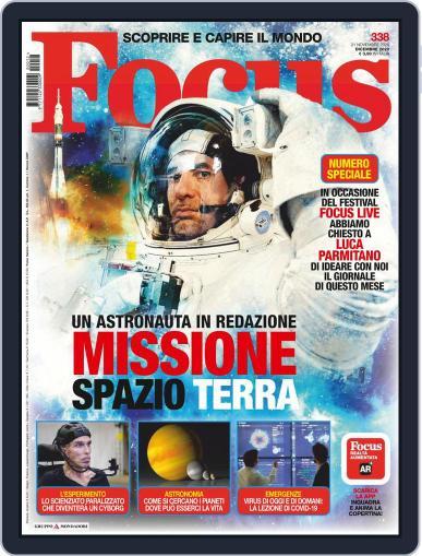 Focus Italia (Digital) December 1st, 2020 Issue Cover