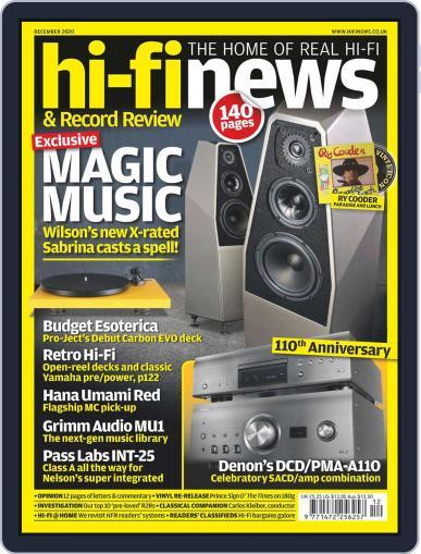 Hi Fi News (Digital) December 1st, 2020 Issue Cover