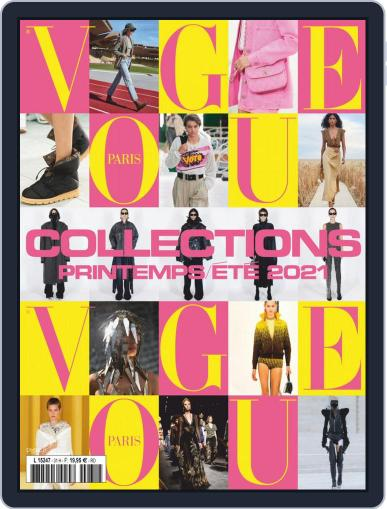 Vogue Collections November 1st, 2020 Digital Back Issue Cover