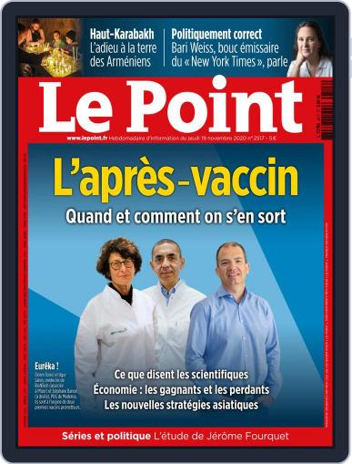 Le Point November 19th, 2020 Digital Back Issue Cover