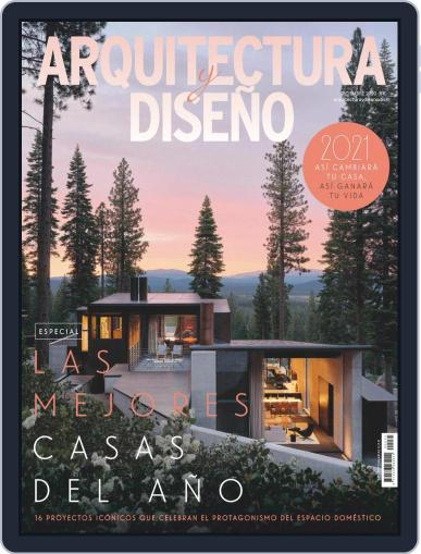 Arquitectura Y Diseño December 1st, 2020 Digital Back Issue Cover