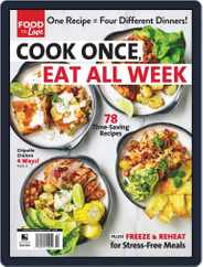Cook Once, Eat All Week Magazine (Digital) Subscription November 16th, 2020 Issue