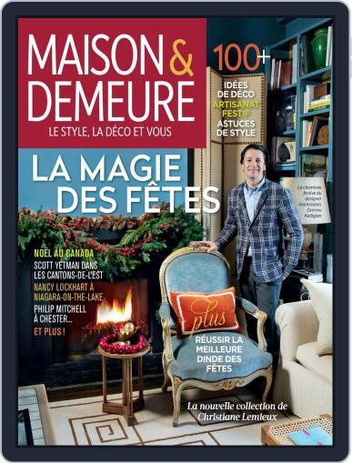 Maison & Demeure November 16th, 2020 Digital Back Issue Cover
