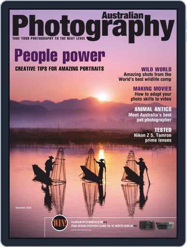 Australian Photography (Digital) December 1st, 2020 Issue Cover