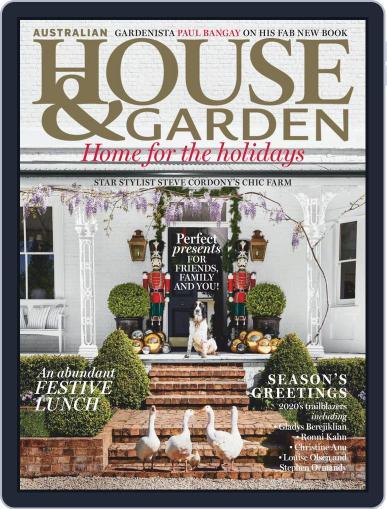 Australian House & Garden (Digital) December 1st, 2020 Issue Cover