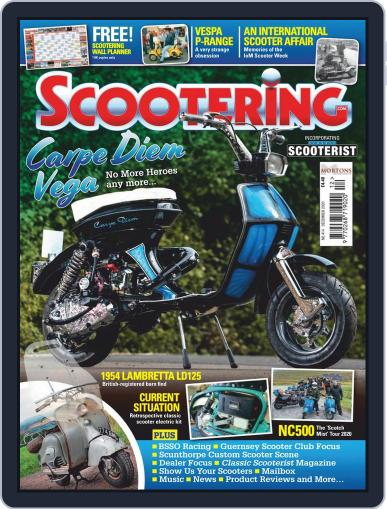 Scootering (Digital) December 1st, 2020 Issue Cover