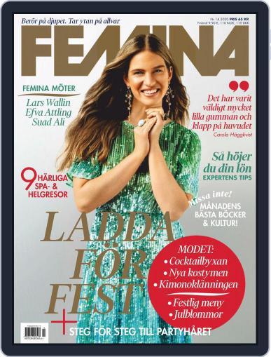 Femina Sweden (Digital) December 3rd, 2020 Issue Cover