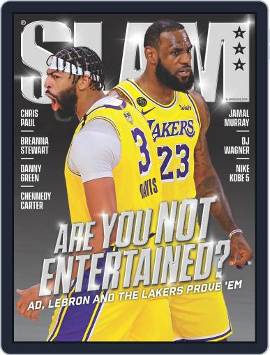Slam November 1st, 2020 Digital Back Issue Cover