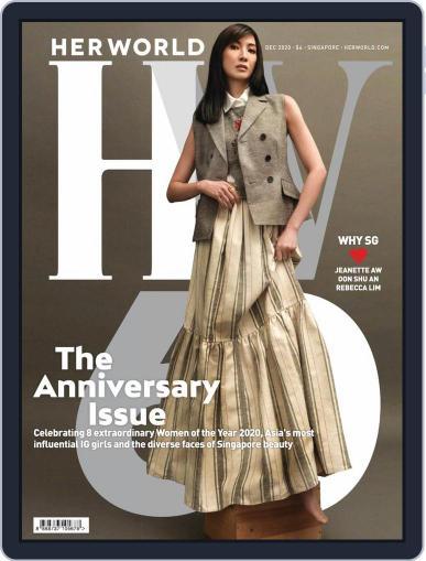 Her World Singapore (Digital) December 1st, 2020 Issue Cover