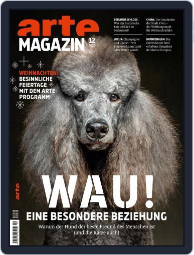 Arte Magazin December 1st, 2020 Digital Back Issue Cover