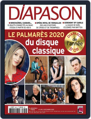 Diapason (Digital) December 1st, 2020 Issue Cover