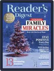 Reader's Digest (Digital) Subscription December 1st, 2020 Issue