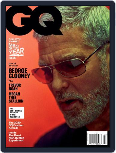 GQ (Digital) December 1st, 2020 Issue Cover