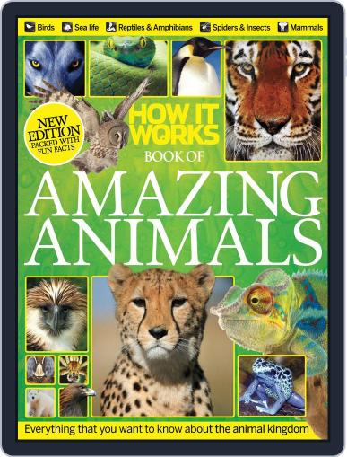 How It Works Book of Amazing Animals Magazine (Digital) September 1st, 2013 Issue Cover